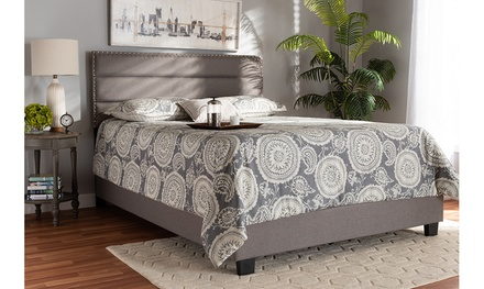 Ansa Fabric Upholstered Bed