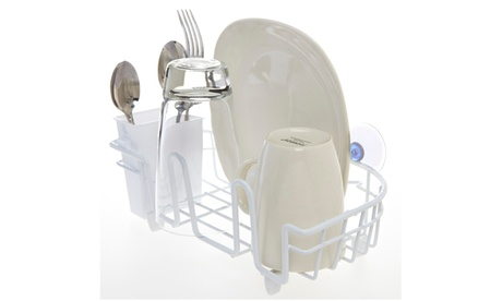 Kitchen Details In-Sink Compact Dish Drainer in White 75d9e3f0-8140-461b-982a-7056705e22c0