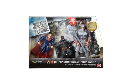 Mattel Justice League Batman™, Steppenwolf™, Superman™ 3-Pack Figures 37e4a923-6ada-48ec-afec-13b03cfe6a45