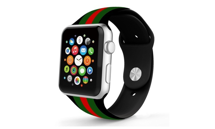 best service 55563 81d7c Up To 81% Off on Silicone GUCCI Pattern Replac... | Groupon Goods