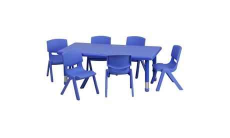24x48 Pre-K Activity Table Set 730c1d8a-4676-44ec-98f1-7ce99d534539