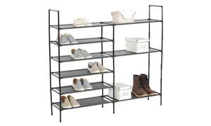 Do-it-Yourself Multi-Purpose 9-Shelf Shoe Rack