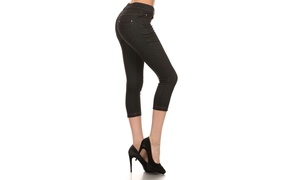 Lady's Capri Jeggings