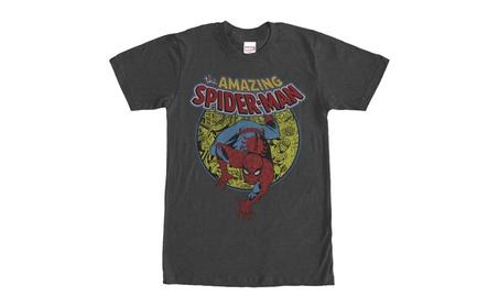 Oukai Marvel Amazing Spider-Man Mens Graphic T Shirt 72d13ec7-afdc-4a30-a576-9c7dff3947c0