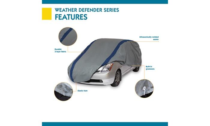 Duck Covers Weather Defender Hatchback Cover for Hatchbacks up to 15 2