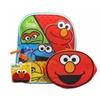 "Sesame Street Elmo 12.5"" Mini Backpack with Lunch Bag"