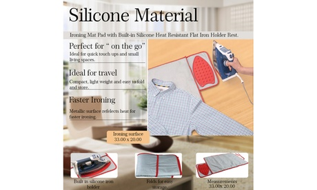 Grand Innovations Express Ironing Mat With Silicon Holder photo