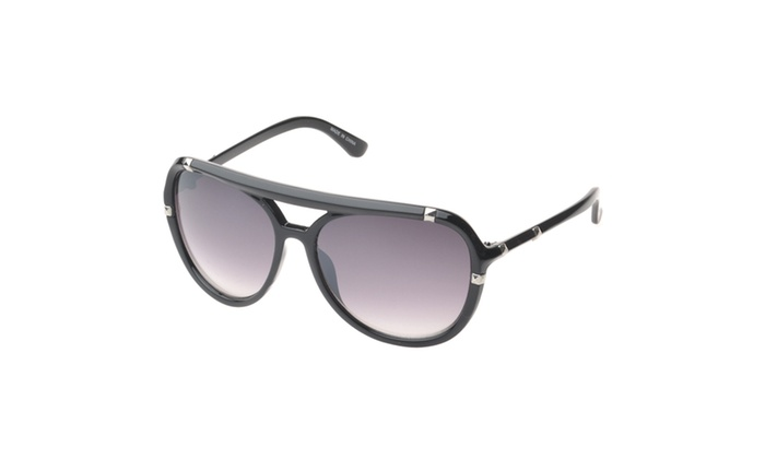 MLC Eyewear 'Bayville Double Bridge Aviator Fashion Sunglasses