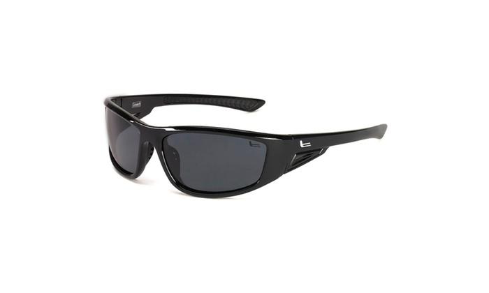 Coleman Highlander-Black w/Black Rubber Tips/Smoke Lens
