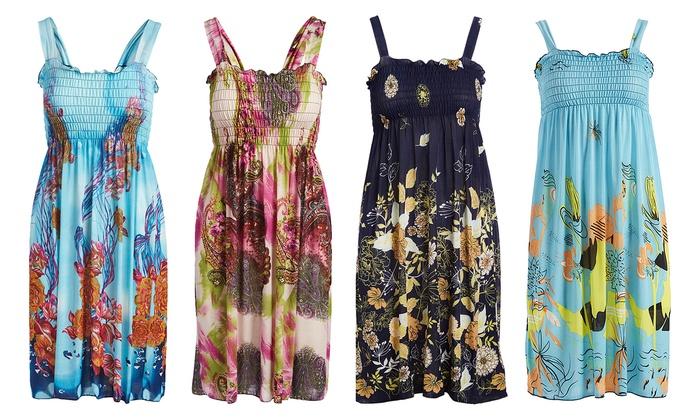 7e66576b3f4 Girls  Lightweight Comfy Sundress Summer Dress ...