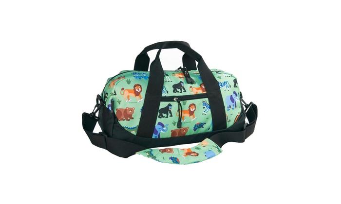 Wildkin Wild Animals Duffel Bag Green