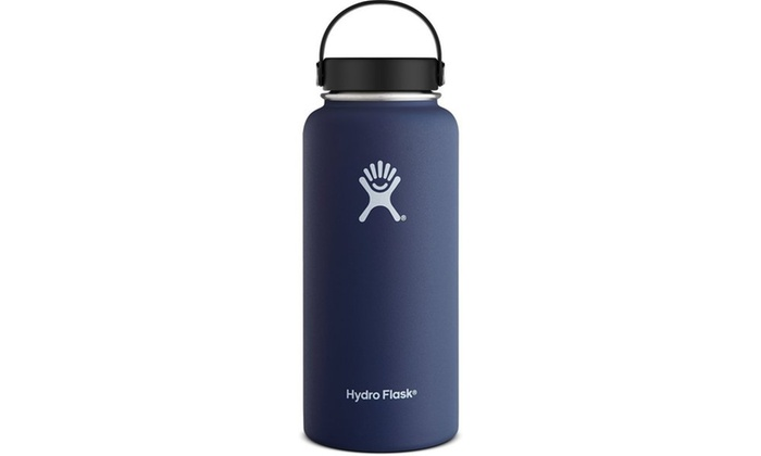 1aac2fc0f9 Hydro Flask Wide Mouth Stainless Steel 40oz Water Bottle with Flex Cap