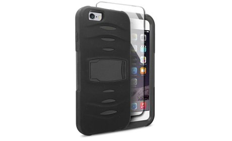 Hybrid Cover Case with stand For Apple iPhone 6S Plus and 6 Plus