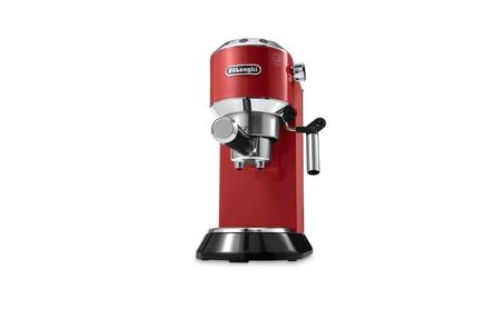 Delonghi EC680R DEDICA 15-Bar Pump Espresso Machine - Red 87eace6b-0f5e-4870-a00a-bb56710d5d1d