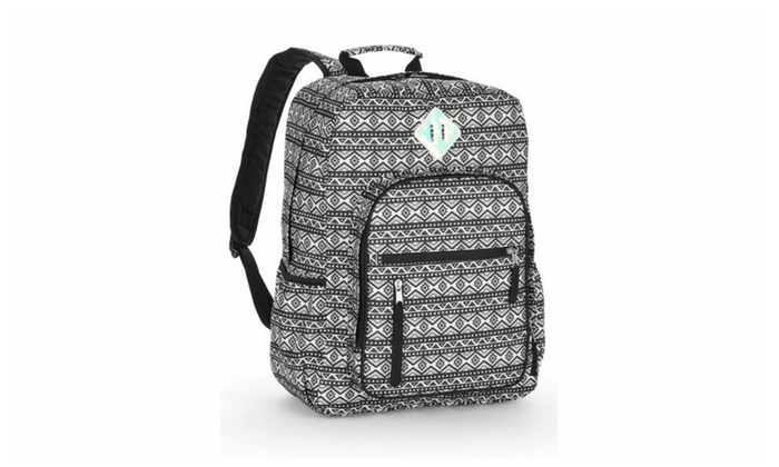 20145accef Durable Canvas No Boundaries Girls School Backpack Dual-zippered ...