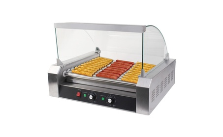Costway Commercial 30 Hot Dog 11 Roller Grill Cooker Machine a5cb185b-58c7-491d-b61c-c12c4f2a5d8c