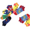 12 pairs of our mix and match Pow Wow sock in Ladies