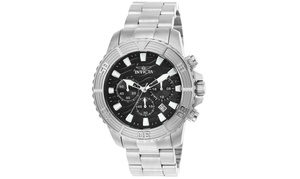Invicta Men's 23998 Pro Diver Quartz Multifunction Black Dial Watch