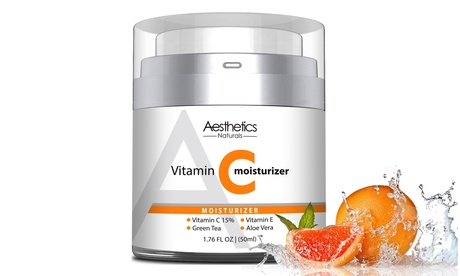 Aesthetics Vitamin C 15% Youthful Cream for Face, Neck & Dcollet (1.7 Fl. Oz.)