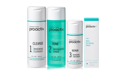 Proactiv 3-Step 60 Day Acne Treatment System with Purifying Mask Was: $80 Now: $52.