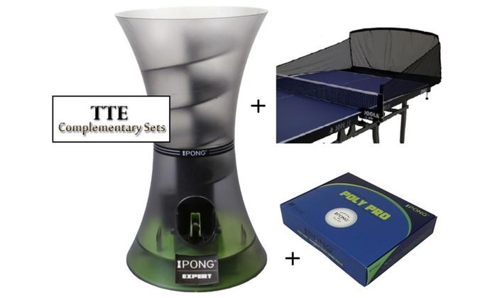 iPong Expert Complete - Robot, 20ct Balls & Carbon Fiber Net