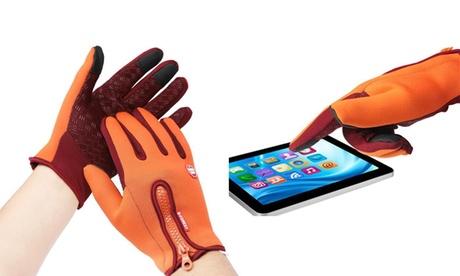 Women Stylish Gloves Warm Windproof Gloves Waterproof Gloves Touch Screen Gloves