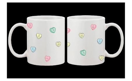Cute 11oz Coffee Mug Valentine Sweethearts Ceramic Coffee Mug Cup Gift 83a02c24-c3c6-421a-9398-0a51cc8b59b7