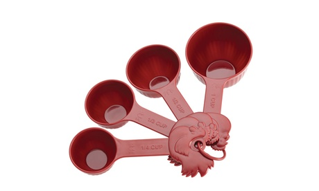 Paula Deen Signature Pantryware 4pc. Measuring Cups Set, Red ab0de9fc-0e97-4b70-bbb1-27acc67bf795