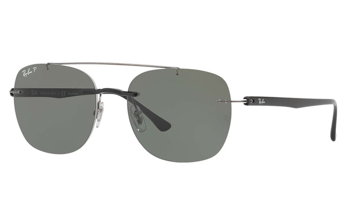 fa19361f599 Ray-Ban RB4280 Sunglasses (Black Polarized Green Classic G-15)