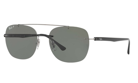 Ray-Ban RB4280 Sunglasses (Black/Polarized Green Classic G-15) Was: $145 Now: $79.