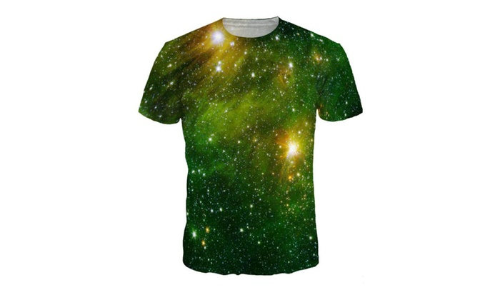 Syins Unisex Casual 3D-Printed T-Shirts Short Sleeve Tops Tees