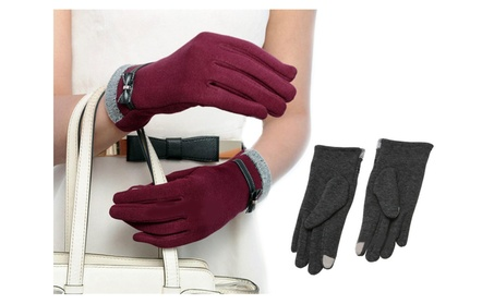Women Warm Winter Gloves Touch Screen Gloves for Outdoor and Driving 45ca7d0e-ac65-4043-8b36-007c32b3d71c