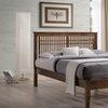 Loafey Mid-Century Modern Full, Queen, or King Platform Bed