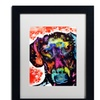 Dean Russo 'Dox' Matted Black Framed Art