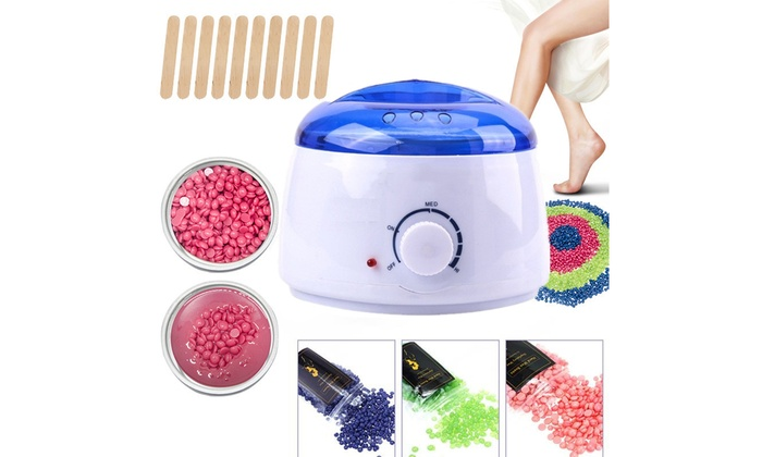 Up To 38 Off On Electric Hot Wax Warmer Hair Groupon Goods