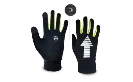 EvridWear Running CThermal Warm Lightweight Touchscreen Gloves (Lime) 40bfa44a-4da5-4970-88e4-b79877f371fb