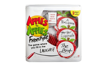 Apples to Apples Freestyle Action Game Hilarious Word Play Mattel Fun 5ceb575f-b166-490b-9663-c4ea78f9cedb
