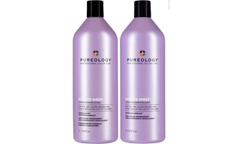 Pureology HYDRATE SHEER shampoo and conditioner Liter Duo