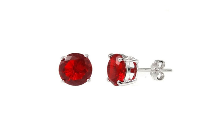 1c78189db Up To 66% Off on 2.00 CTTW Ruby Sterling Silve... | Groupon Goods