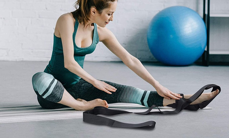 Yoga Ligament Stretching Belt Leg Training Foot Ankle C6A4 Joint Ac E4B7