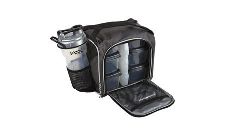 Meal Prep Bag with Leakproof Portion Control Container Set and Shaker edb44681-4695-4b95-a1eb-6ccb08001934