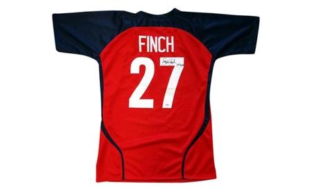 Autographed Jennie Finch Team USA Red & Blue Custom Jersey edc92676-169b-4ff8-a98c-fb308e3ce309