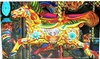 Jigsaw Puzzle, Pretty Carousel Horse With Blue Flowers
