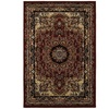 Grace Red Black Bordered Indoor Area Rug