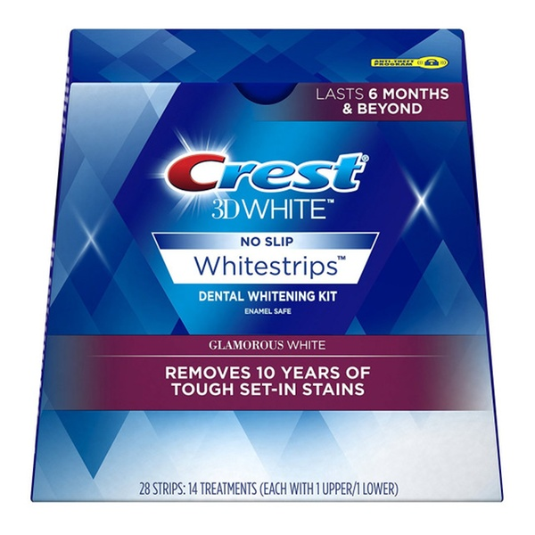 Crest 3d White Luxe Whitestrip Teeth Whitening Kit Glamorous