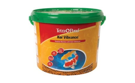 Tetra Pond Koi Vibrance Food 3.8 Pounds - 16459 7bd7a22c-1058-4148-89b5-31a63ed4c145