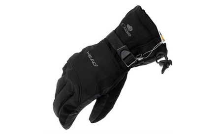 Man Winter Ski Sport Waterproof Double Gloves Black Gloves 0d8cb8e4-cdbf-4a20-99bf-2f38e7d3fc13