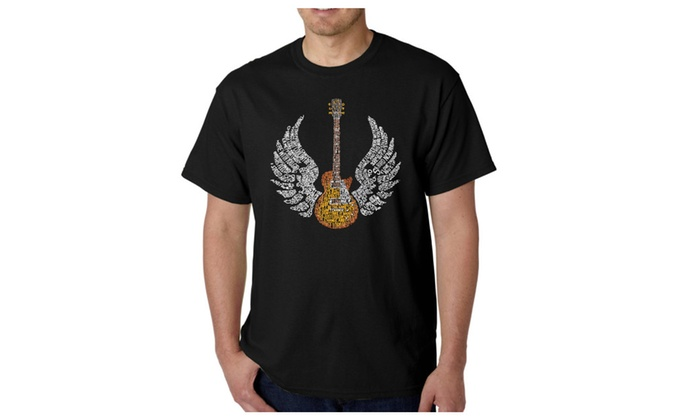 Men's T-shirt - LYRICS TO FREEBIRD