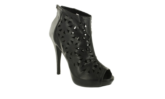 Red Circle Women's Chela Cut Out Bootie