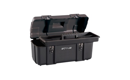 Waterloo 20 in. Plastic Tool Box 9b312853-92a0-4dd8-8428-abab6cba29c7